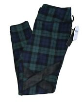 CYNTHIA ROWLEY FITNESS SIGNATURE PLAID LEGGINGS WOMENS SIZE LARGE Anthropologie