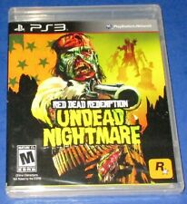 Red Dead Redemption: Undead Nightmare PS3 *New! *Factory Sealed! *Free Ship!