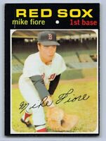 1971  MIKE FIORE - Topps Baseball Card # 287 - BOSTON RED SOX