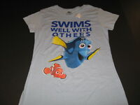 Disney Pixar FINDING DORY Swims Well With Others Shirt New NWT Womens Petite MED