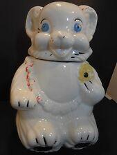 Vintage Teddy Bear Cookie Jar Royal Ware??? 1950's  (Unmarked)