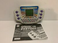 2005 WHEEL OF FORTUNE HANDHELD ELECTRONIC GAME BY CALIFON / HASBRO WORKS