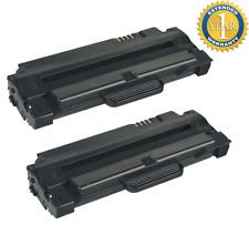 2 Pack MLT-D105L ML-2525 ML-2525W Toner Cartridge For Samsung ML-2545 SCX-4623F