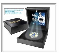 PATRICK DANGERFIELD GEELONG 2016 BROWNLOW MEDAL REPLICA IN BOX  - OFFICIAL AFL