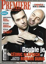 PREMIERE Nº362 ABRIL 2007 KLAPISCH & DURIS/ KIBERLAIN/ PORNO/ PICCOLI/ DIE HARD