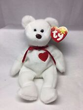 Valentino Very Rare Retired TY Beanie Baby Lots of Great Tag Errors Has Big Eye