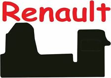 Renault Master DELUXE QUALITY Tailored mats 2010 2011 2012 2013 2014 2015 2016