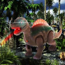 Electric Walking Sound Light Glowing Dinosaur Animals Model. For Kids Children_