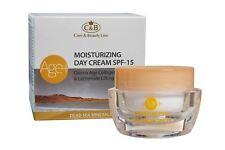 Dead Sea Minerals C&B Age+ Moisturizing Day Cream SPF-15 Derma Age Collagen