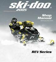 2007 Ski Doo Rev Series Gsx Gtx Mx Z Summit Snowmobiles Service Manual Cd Ebay