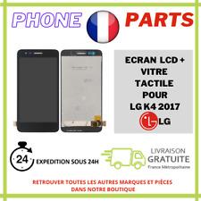 ECRAN COMPLET LCD + VITRE TACTILE POUR LG K4 2017 NOIR