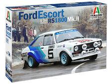 ITALERI FORD ESCORT RS1800 Mk. II échelle 1:24 Rallye modèle de voiture Kit (IT3655)