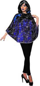 Celestial Womens Adult Fantasy Sorceress Halloween Poncho