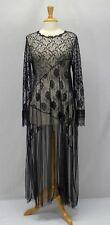 Vintage Hanky Panky Ltd. Lace Bias Nightgown Size M/L