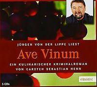 Ave Vinum: Kulinarischer Krimi von Henn, Carsten Sebastian   Buch   Zustand gut
