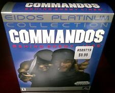 Commandos Behind Enemy Lines (2-Disc), EIDOS Platinum Collection (PC 2000) NISB