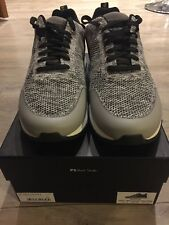 Mens Paul Smith Rappid Grey Malange Knitted Trainers Size 11 Brand New In Box