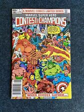 MARVEL SUPER-HERO CONTEST OF CHAMPIONS (1982 Series) #1 Near Mint NEWSSTAND