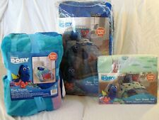 Disney Finding Dory Nemo Twin Blanket, Comforter and Sheet 5 pc Bedding Set