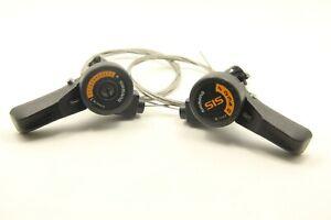 Shimano TY15 3 X 5 Speed Shifters Bike Bicycle Tigger Friction Thumb Shifter NOS
