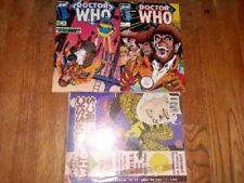 NM Doctor Who 2 3 21 UK 13 Marvel Comics 1st ed Shooter Lee Romita Tardis 4 lot