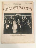 L'Illustration:  Large Format French Magazine January 29, 1938 No. 4952 FRENCH
