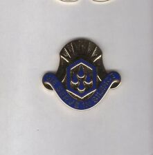 Us Army 464th Chemical Brigade crest Dui c/b clutchback badge G-23