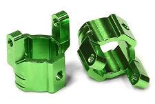 C24709GREEN Integy Billet Alloy Caster Blocks for Axial SCX-10, Honcho & Dingo