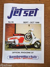 New Jet Set Magazine, Lambretta Great Britain Club, No.95 1998