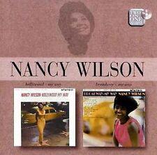 Broadway My Way/Hollywood My Way by Nancy Wilson (CD, Jun-2001, Emi)