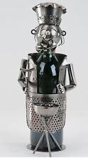 614087 Soporte de botellas AUS pintado Hierro parrillero 36cm NUEVO