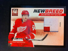2011-12 Panini Elite GUSTAV NYQUIST New Breed Patch /25