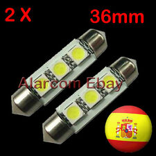 2 x bombillas led 36mm C5W Festoon 5050 3 leds  #1023