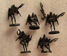 Warhammer 40K Dark Eldar metal  Scourge Squad 5 oop