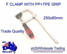 80 x 250mm Heavy Duty F Type Screw Clamps