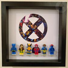 LEGO Marvel X-MEN Minifigure Display Frame Stand Superhero Birthday Gift