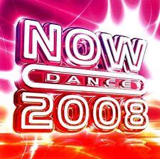 NOW DANCE 2008 - 2 X UNMIXED CDS HOUSE TRANCE CLUBLAND IBIZA DANCE CD CDJ DJ