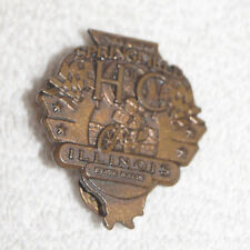 Lapel Pin : HOG 11th Annual Rendezvous Apringfield Illinois State Rally Harley