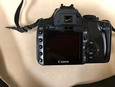 CANON EOS DIGITAL REBEL MODEL DS126151 camera used w/ 3 batteries