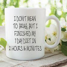 Novelty Funny Diet Mugs Cups Birthday Secret Santa Friend Gifts Mother WSDMUG532