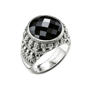 Thomas Sabo Jewellery Silver Ring Skull TR2005-024-11