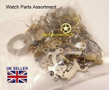 Assortment of Watch Parts Steampunk Jewellery Or Use For Repairs