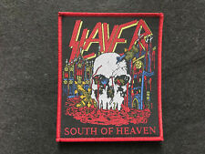 "Slayer ""South Of Heaven Patch sodom-dark angel-destruction-bathory-venom-sod-dri"
