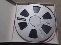 Ampex 478 10.5 inch, 1/4 - Reel-to-Reel Tapes Audio Mastering spool