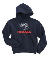 Scania hoodie lorry truck sweatshirt hoody  t-shirt M-XXL