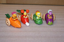 1988 McDonalds Happy Meal Toys Fraggle Rock Jim Henson Complete SET 4
