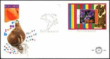 Netherlands 1996 Spriing Flowers M/S FDC #C44438