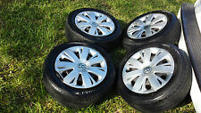"16"" VOLKSWAGEN VW BEETLE JETTA OEM FACTORY STOCK WHEELS RIMS HUBCAPS 5X112 Tires"