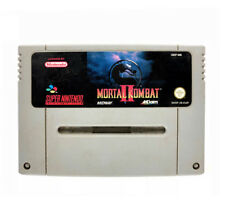 Mortal Kombat 2 II Super Nintendo Game USED