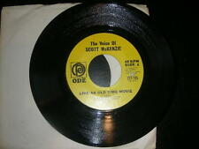 """Pop 45 Scott McKenzie """"Like An Old Time Movie/What's The Difference"""" Ode NM"""
